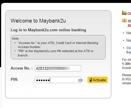 cara nak daftar maybank2u