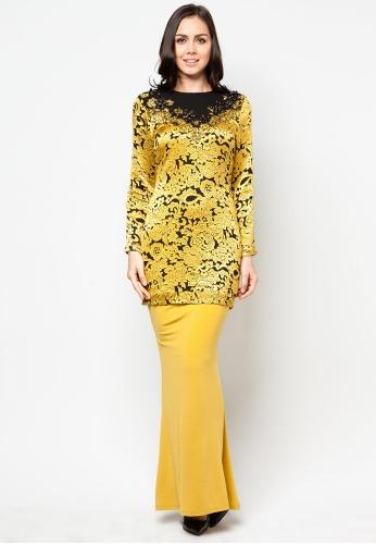 Syawal baju kurung moden